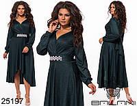 Нарядное праздничное вечернее платье ассиметрия Производитель ТМ Balani размер 48-50, 50-52