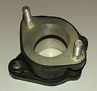 Патрубок карбюратора резиновый прямой  Zubr T200