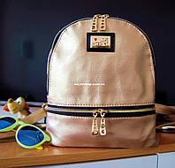 Кожаная Женская сумка Moschino. Мини рюкзак трэнд сезона! Цвета на выбор. РД004, фото 1