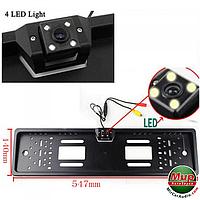 Камера в рамке номерного знака iDial ET-685/S
