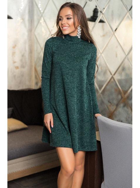 Молодежное женское платье-гольф (в расцветках)