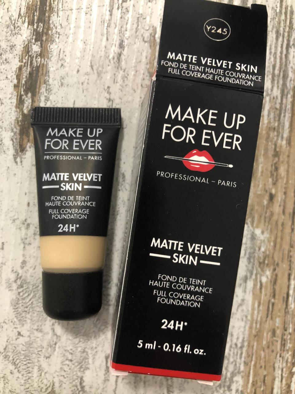 Тональный крем Make Up For Ever Matte Velvet Skin, 5мл