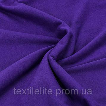 Трикотажная ткань кулир 100% хлопок. Цвет — Фиолетовый