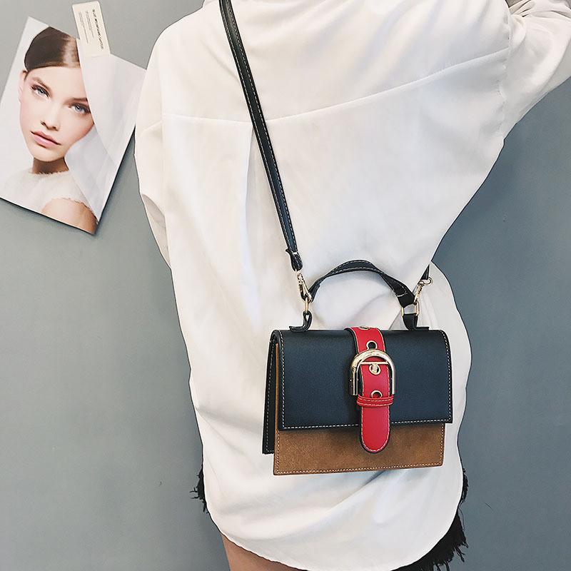 9bfedacdcde4 Женская сумочка маленькая через плечо черная из экокожи купить по ...
