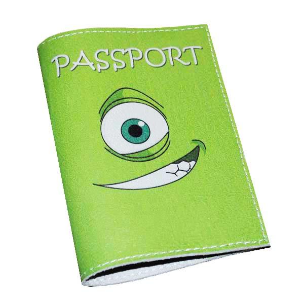 Обложка для паспорта -Монстрик-