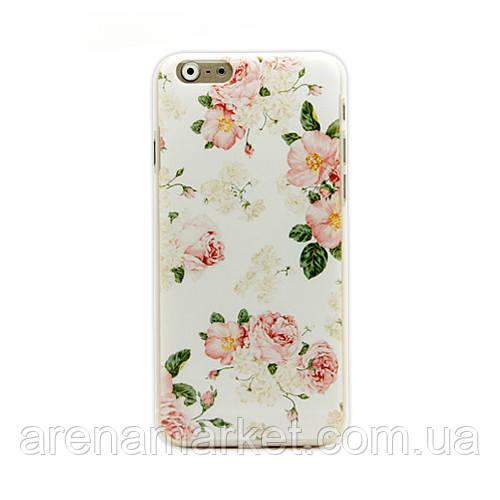 """Чехол для iPhone 6 4.7"""" Цветы"""