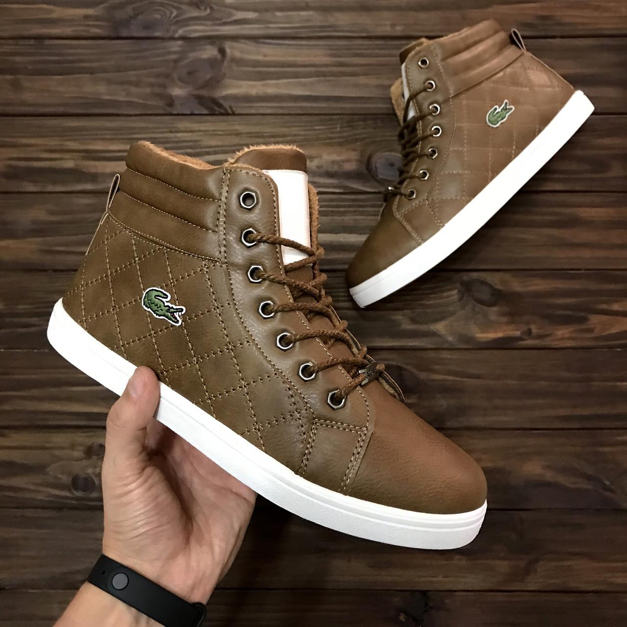 Зимние мужские ботинки Lacoste  920 грн. - Ботинки Желтые Воды ... 1212b72db5e