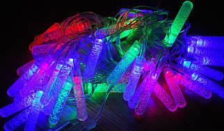Новогодняя гирлянда Сосульки 40 LED 6 м