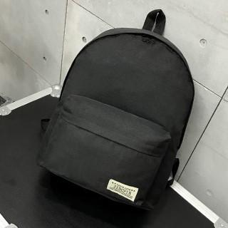 Женский рюкзак черный тканевый вместительный