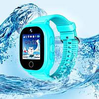 Детские умные часы DF30 Голубые