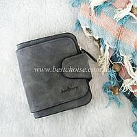 Женский кошелек - портмоне Baellerry Mini Forever (темно серый)