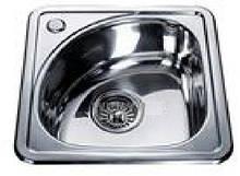 Врезная кухонная мойка из нержавеющей стали Platinum 3838 B Сатин 0.6