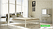 Металлическая кровать Анжелика на деревянных ножках ТМ «Металл-Дизайн», фото 2