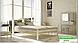 Металлическая кровать Анжелика на деревянных ножках ТМ «Металл-Дизайн», фото 3