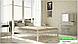 Металлическая кровать Анжелика на деревянных ножках ТМ «Металл-Дизайн», фото 5