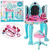 Трюмо детское LM90009, стульчик, фен, аксессуары, картинка проявляется, музыка, звук