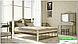 Металлическая кровать Анжелика на деревянных ножках ТМ «Металл-Дизайн», фото 8