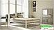 Металлическая кровать Анжелика на деревянных ножках ТМ «Металл-Дизайн», фото 9