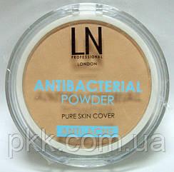 Пудра для лица LN Professional Antibacterial Powder Pure Skin Cover ANTI-ACNE № 202