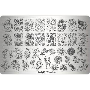 Пластина XL Lesly Flowerbed 1