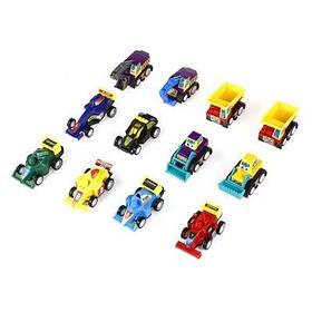 Мини автомобиль для строительства гоночный автомобиль 12 шт для детей - Цветной