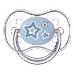 Пустышка силиконовая круглая 0-6 м Newborn baby 22/562