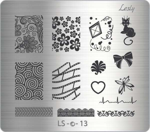 Пластина средняя Lesly LS-13