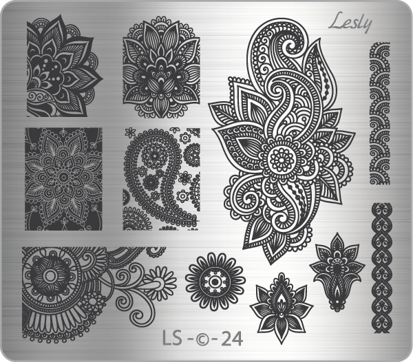 Пластина средняя Lesly LS-24