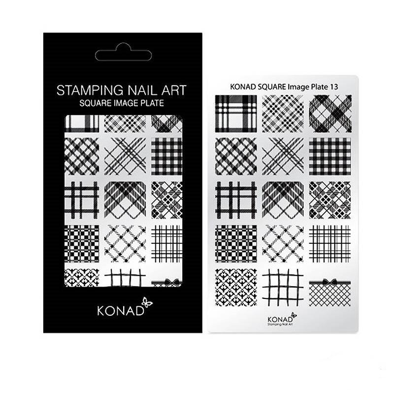Пластина Konad Square Image Plate 13