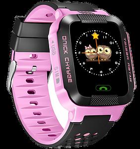 Детские умные часы с gps G51 розовые