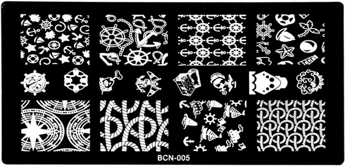 Пластина для стемпинга BCN-005