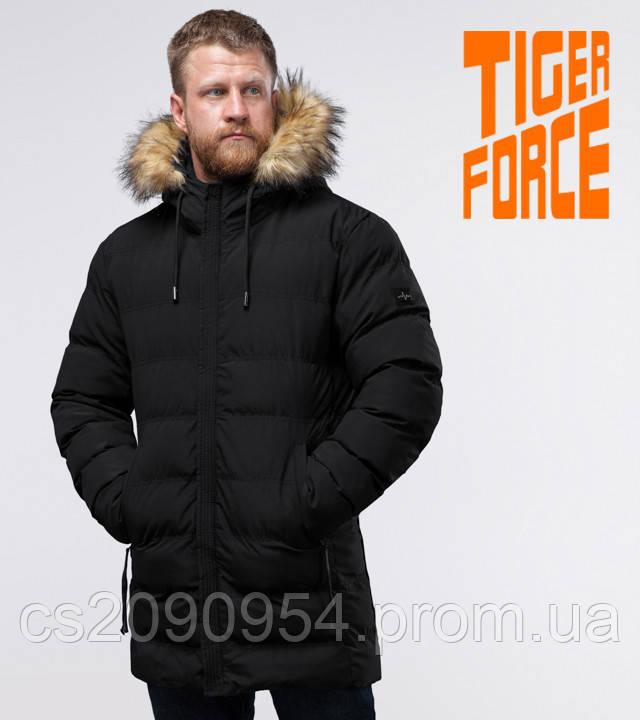 Tiger Force 74560   Куртка со вшитым капюшоном черная