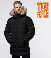 Tiger Force 74560   Куртка со вшитым капюшоном черная, фото 1