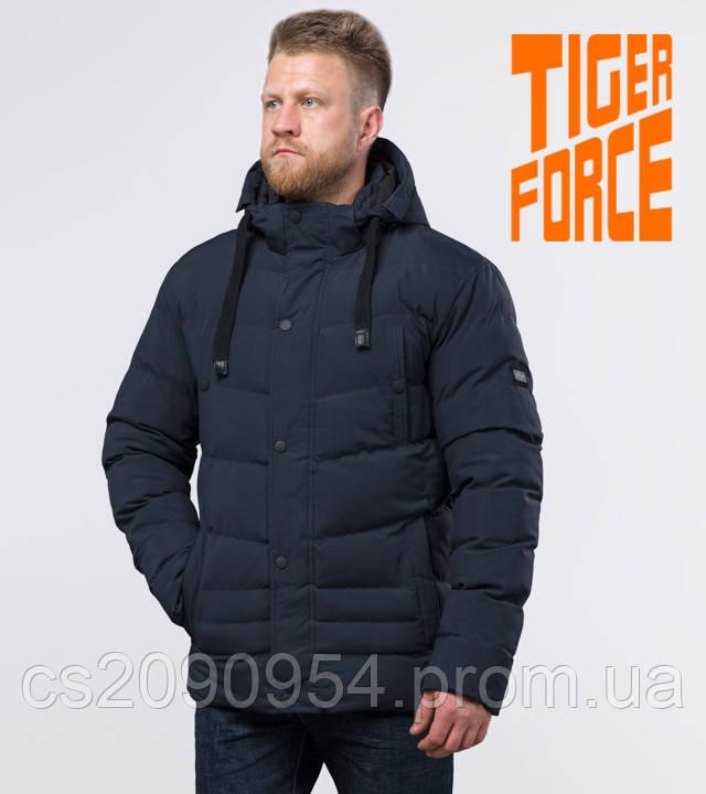 Tiger Force 52235 | Мужская зимняя куртка темно-синяя