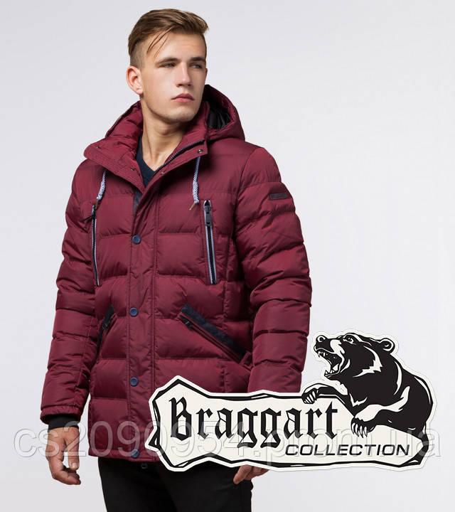 Braggart Aggressive 11726   Мужская куртка бордовая