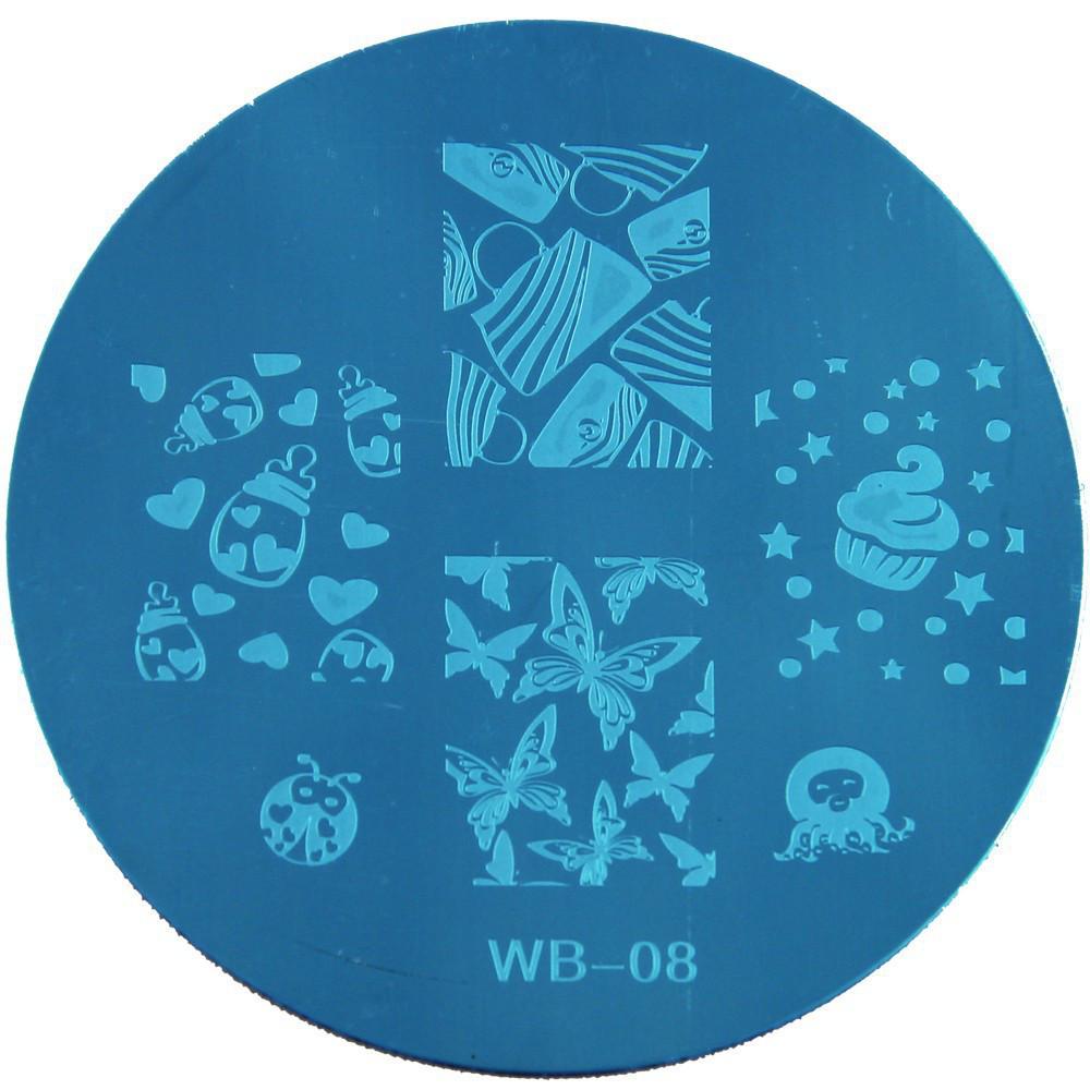Диск для стемпинга WB-08