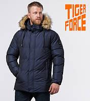 Tiger Force 71550 | Мужская зимняя куртка темно-синяя, фото 1