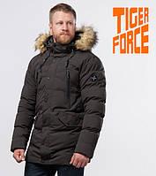 Tiger Force 72160   Теплая мужская куртка кофе, фото 1