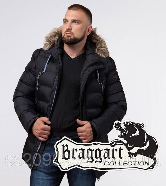 Braggart Aggressive 21226 | Куртка мужская на кнопках черная