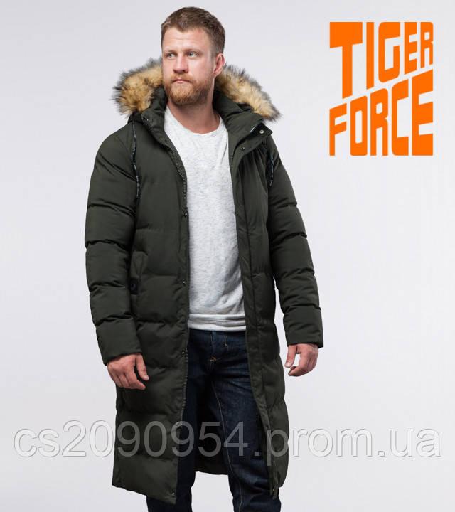 Tiger Force 73612 | Зимняя куртка темно-зеленая