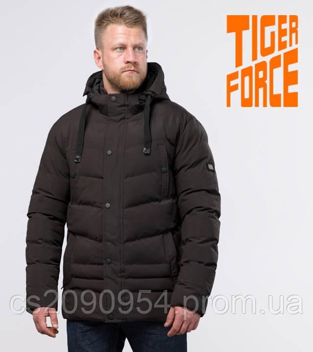 Tiger Force 52235 | Мужская теплая куртка кофе