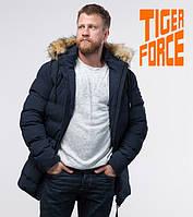 Tiger Force 74560 | Куртка с меховой опушкой синяя, фото 1