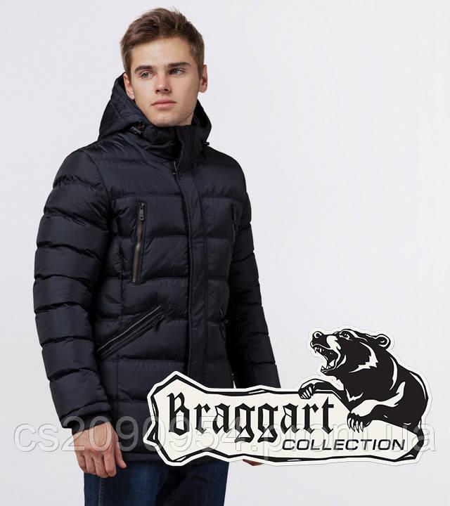 Braggart Aggressive 13542 | Качественная мужская куртка темно-синяя