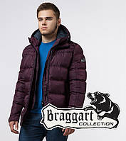 Braggart Aggressive 26055   Мужская фирменная куртка темно-бордовая, фото 1