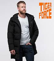 Tiger Force 56460 | Зимняя куртка на мужчину черная, фото 1