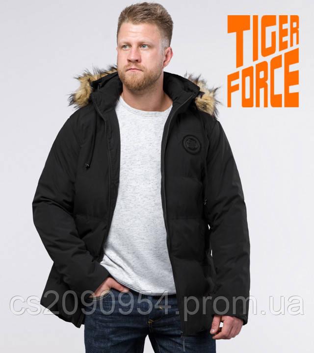 Tiger Force 55825   Куртка мужская зимняя черная