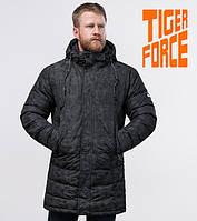 Tiger Force 70118   Мужская теплая куртка черная, фото 1