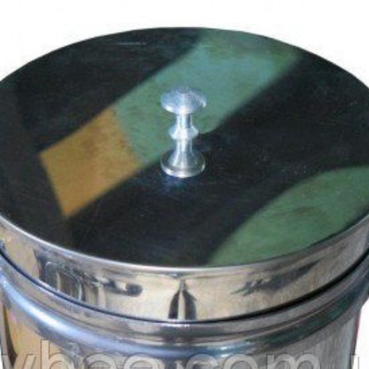 Бак (отстойник) для фасовки меда нержавеющий 20л кран н/ж