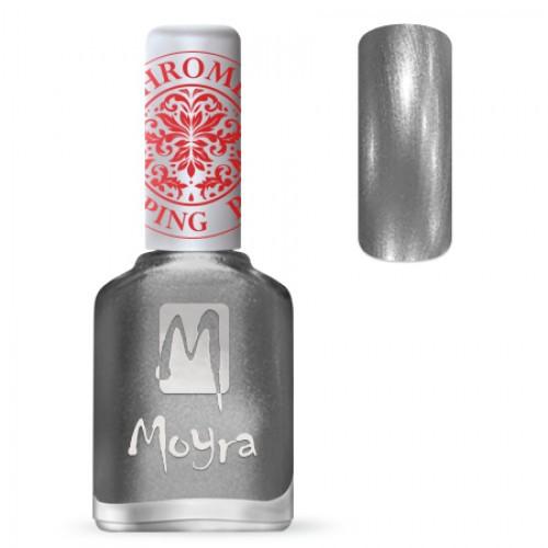 Лак Moyra №25 Chrome Silver