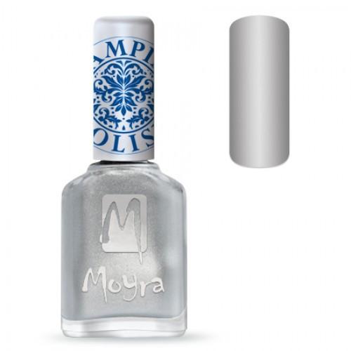 Лак Moyra №8 серебро